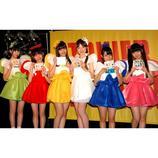 乙女新党、シングル発売イベントに女子プロ野球選手参加 西選手「自分も衣装を着てみたい」