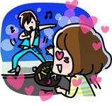 【PR】オタ友とアイドル愛を高め合う!? LINEスタンプ「☆アイドル好き女子の日常☆」登場