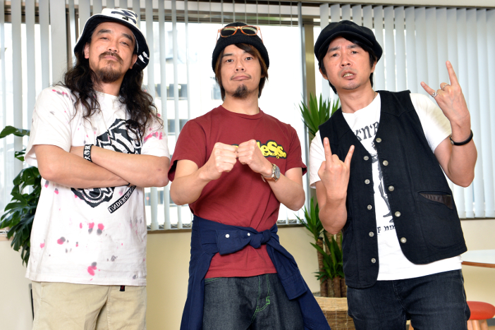 怒髪天・増子 × 10-FEET・TAKUMA × G-FREAK FACTORY・茂木、これからのフェス文化を語る