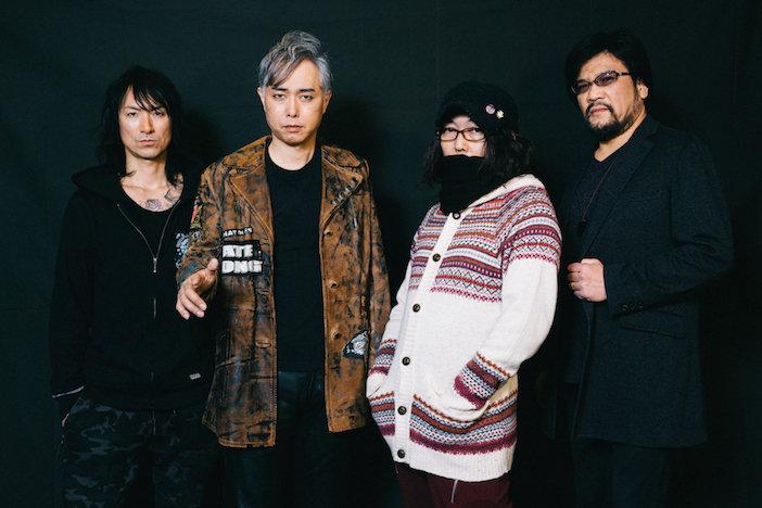 特撮、メンバー全員が語るバンドの成熟「みんなで音を出せば、ちゃんと特撮の音になる」