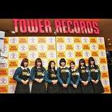 欅坂46メンバーが渋谷CDショップで1日店員に 平手友梨奈「声の小さいメンバーも多い…(笑)」