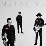 METAFIVE、新作『METAHALF』ジャケット公開 メンバー3人ずつのショットを使用