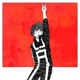 米津玄師、『ヒロアカ』OP曲「ピースサイン」配信用ジャケットイラストを描き下ろし