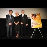 ヘレン・ミレン、『黄金のアデーレ』舞台挨拶で来日「日本にはすばらしい映画文化が根付いている」