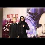 マーベル×Netflix『ジェシカ・ジョーンズ』女優陣が来日 テイラー「リアルだし心に響く作品」