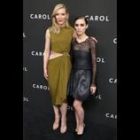 『キャロル』MoMAでNYプレミア開催 K・ブランシェットとR・マーラが対照的なドレス姿で登場