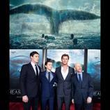 『白鯨との闘い』NYプレミアにクリス・ヘムズワースら登場 「一番つらかったのはダイエット」