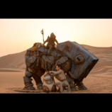『スター・ウォーズ/フォースの覚醒』本編映像の一部公開 BB-8とレイが出会う