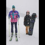 阿部寛と大島優子、ゲレンデを背景にスキーウェア姿を披露 『疾風ロンド』ビジュアル公開