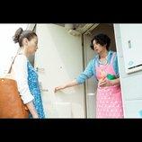 宮沢りえ主演『湯を沸かすほどの熱い愛』新場面写真、オダギリジョーがピンクのエプロン姿を披露