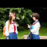 『咲-Saki-』咲と和の出会い描くスポット映像公開 浜辺美波、浅川梨奈らが歌うOPテーマも