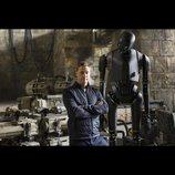 『ローグ・ワン』新ドロイドK-2SO特別映像 モーション・キャプチャによる撮影の裏側が明らかに