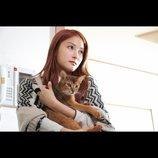 """""""元KARA""""パク・ギュリ主演作『サヨナラの伝え方』公開決定 猫を抱くポスタービジュアルも"""