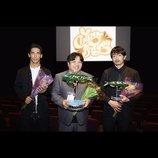 『たたら侍』青柳翔、バイユー映画祭で主演男優賞受賞 「平和への想いが届くことを願っています」