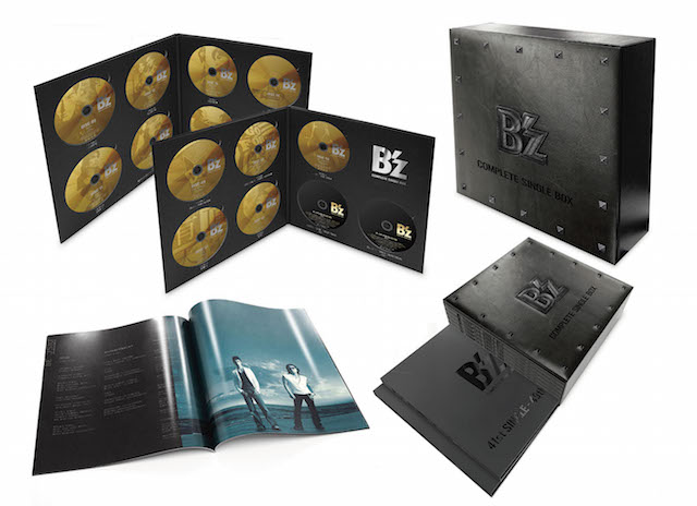 B'z COMPLETE SINGLE BOX 【Black Edition】の画像