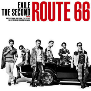 EXILE THE SECOND『ROUTE 66』CD+DVDの画像