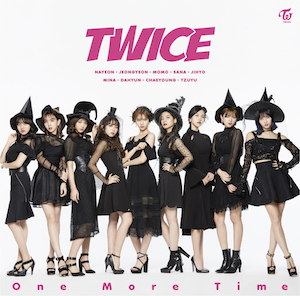 TWICE『One More Time』ONCE JAPAN限定盤の画像