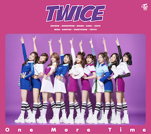 TWICE『One More Time』初回限定盤Aの画像