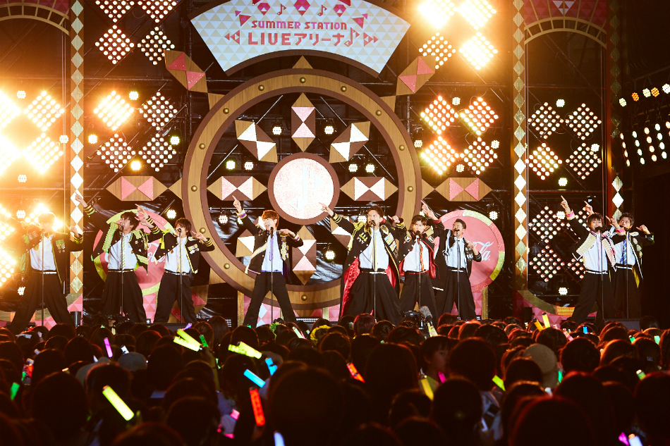 BOYS AND MEN&祭nine. With BOYS AND MEN研究生出演『サマステLIVE』がTV初放送