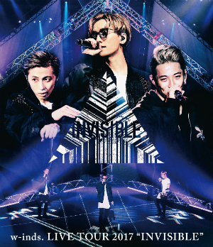 "w-inds.『w-inds. LIVE TOUR 2017 ""INVISIBLE""』(通常盤Blu-ray)の画像"