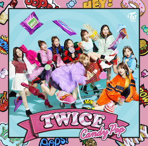 TWICE『Candy Pop』ONCE JAPAN限定盤の画像