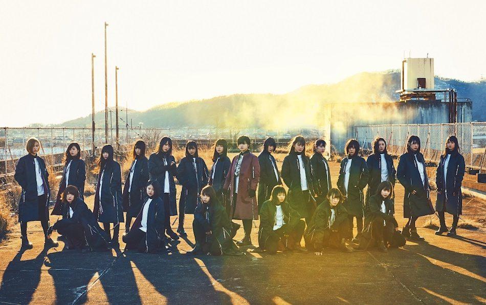 欅坂46、6thシングル『ガラスを割れ!』新アーティスト写真&ジャケット写真公開