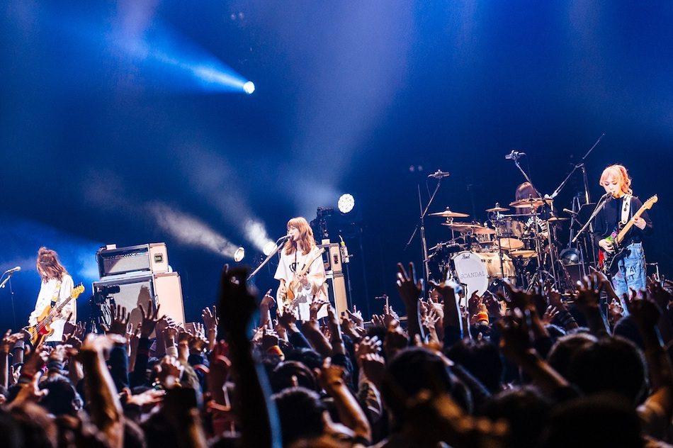 "SCANDALがライブで体現する、""ガールズバンド""という価値観 - Real ..."
