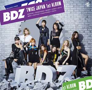 JAPAN 1st ALBUM『BDZ』の画像