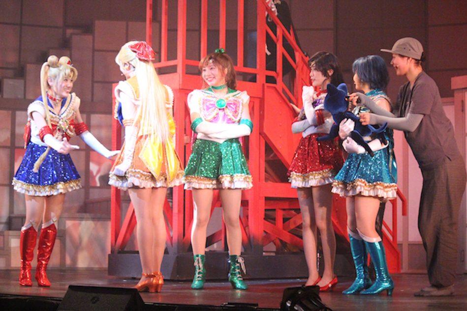 乃木坂46、『美少女戦士セーラームーン』ミュージカルに吹かせた