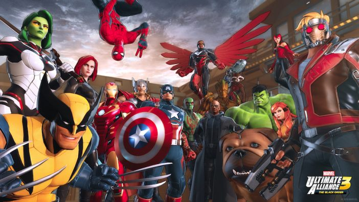 『MARVEL ULTIMATE ALLIANCE 3: The Black Order』Switch独占タイトルで来年発売
