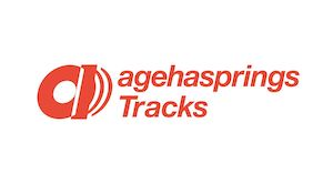 「agehasprings Tracks」ロゴ。の画像