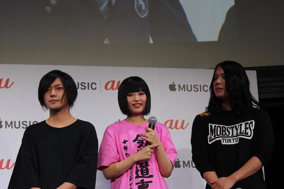 ヤバT もりもりもとが中川大志のドラムを絶賛! 「Apple Music6カ月間無料」も発表の「au × music 2019」レポート