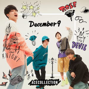 ACE COLLECTION、初アルバム『December 9』ジャケット&収録曲公開