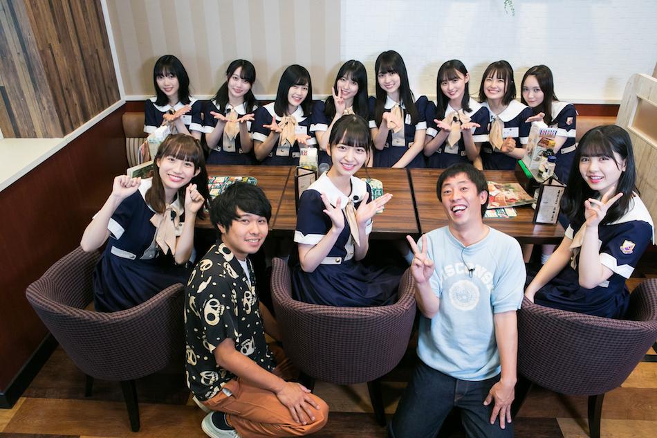 乃木坂46 4期生によるバラエティ番組『乃木坂どこへ』放送開始