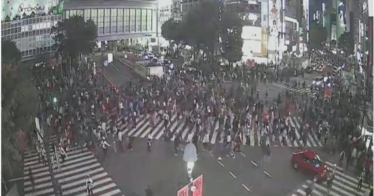 渋谷 スクランブル 交差点 ライブ カメラ