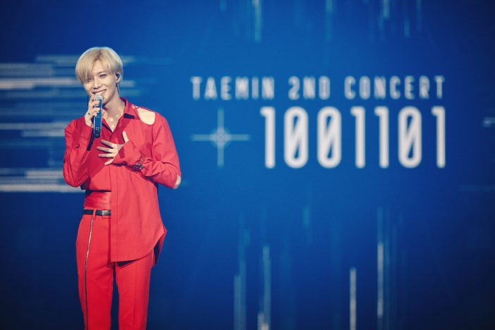 テミン(SHINee/SuperM)、『TAEMIN 2ND CONCERT [T1001101] in JAPAN』開催