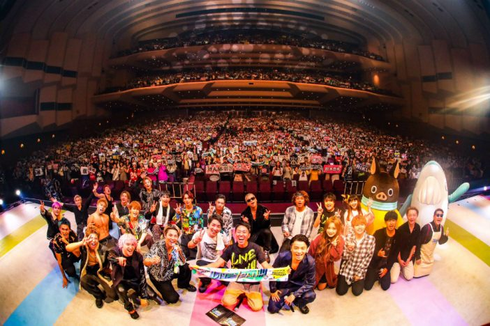 THE RAMPAGE、KREVA、まるりとりゅうが、SPiCYSOLが集結 『LIVE YEAH!!!』レポ