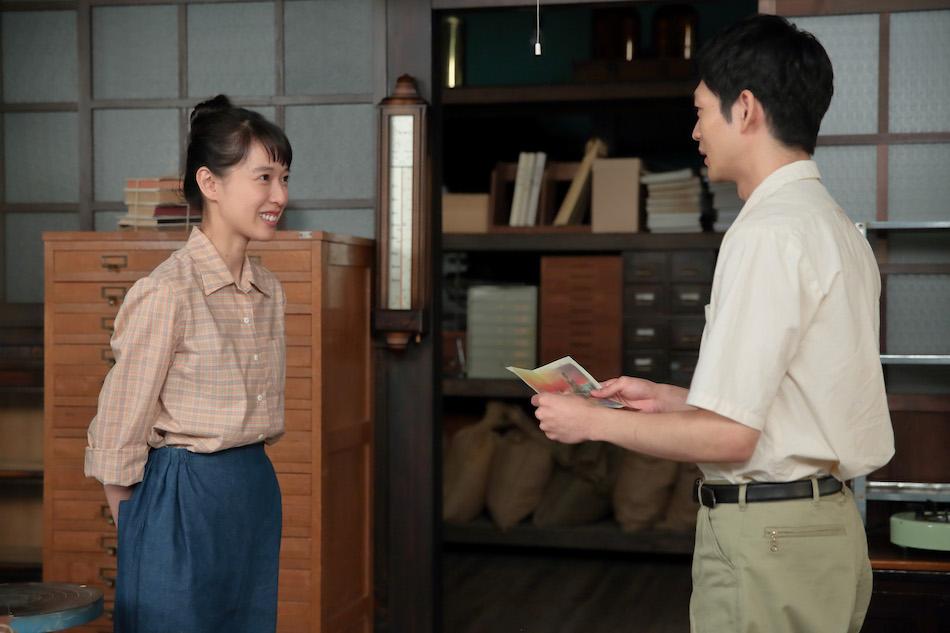 スカーレット』第49話では、八郎(松下洸平)の喜美子(戸田