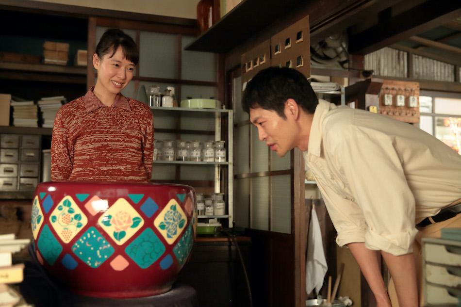 スカーレット』第55話では、喜美子(戸田恵梨香)が八郎(松下