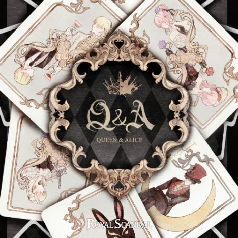 Royal Scandal、『Q&A -Queen and Alice-』クロスフェード動画公開 新曲含む全13曲試聴可能に