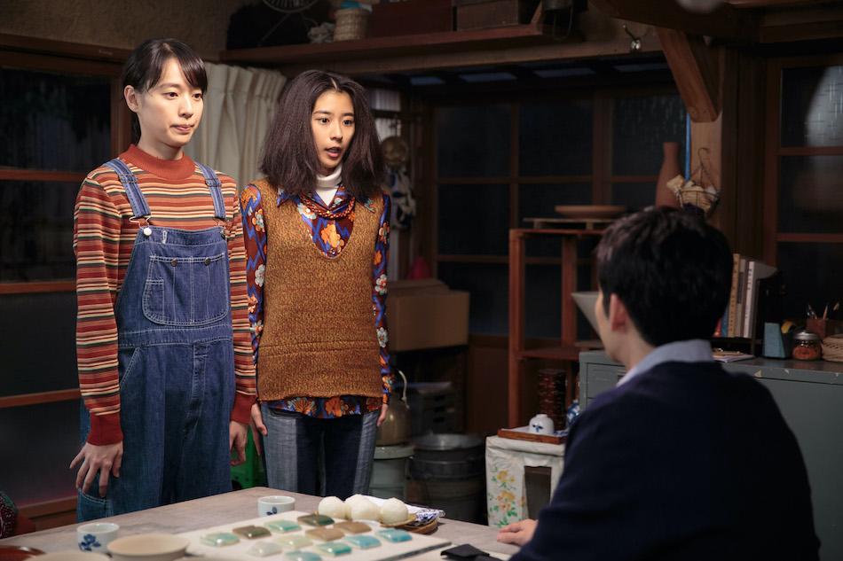 スカーレット』第83話では、喜美子(戸田恵梨香)が三津(黒島結