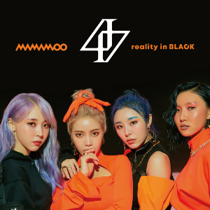 MAMAMOO『reality in BLACK -Japanese Edition-』初回限定盤Aの画像