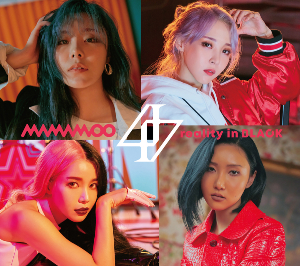 MAMAMOO『reality in BLACK -Japanese Edition-』初回限定盤Bの画像