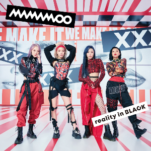 MAMAMOO『reality in BLACK -Japanese Edition-』通常盤の画像