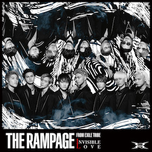 THE RAMPAGE from EXILE TRIBE 『INVISIBLE LOVE』(CD盤)の画像
