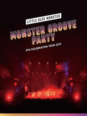 『Little Glee Monster 5th Celebration Tour 2019 ~MONSTER GROOVE PARTY~ 東京・国立代々木競技場第一体育館 2019.11.03』(初回生産限定盤)の画像