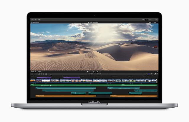 新型13インチMacBook Pro、突如登場! Magic Keyboardと2倍の ...