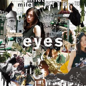 『eyes』初回生産限定盤B(CD+DVD)の画像