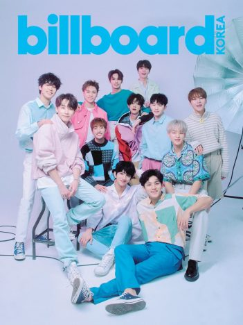 SEVENTEENを総力特集『billboard KOREA Magazine』日本発売決定