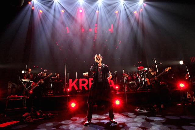 """KREVA、""""新たなライブ様式""""に向けた粋な試みの数々 ストリーミングライブ『①(マルイチ)』レポートの画像2-1"""
